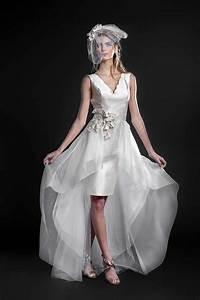 Robe Courte Mariée : gwanni et la robe de mari e courte ~ Melissatoandfro.com Idées de Décoration