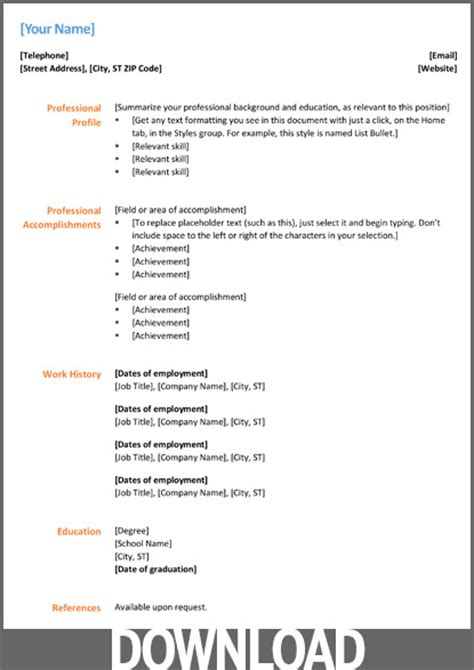 Download 12 Free Microsoft Office Docx Resume And Cv Templates. Gpa On Resume Example. Sample Objectives On Resumes. Resume Format For Security Guard. Property Management Resume Keywords. Performance Testing Resume. Technical Support Resume Format. Resume With Photo Template. Chrono Functional Resume Sample
