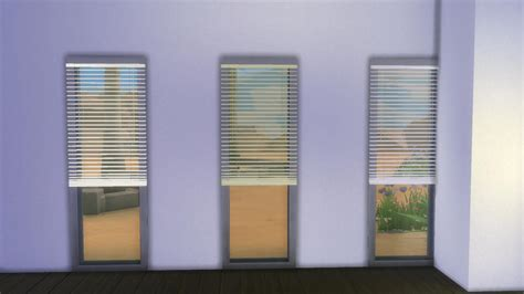 corner windows in mod the sims horizontal curtain blinds