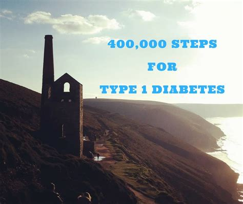 400 Thousand Steps For Type 1 Diabetes  A Cornish Mum