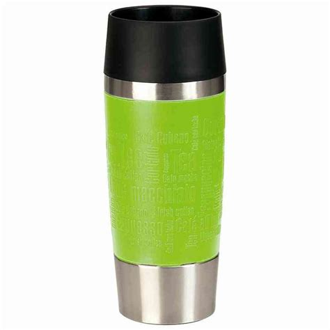 emsa isolierbecher travel mug 360 ml farbe limette real