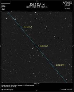 Capturing Asteroid 2012 DA14 Outbound: Feb 15, 2013