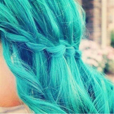 aqua hair color aqua hair for
