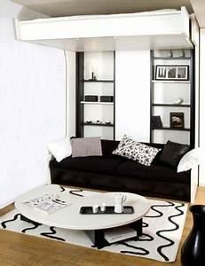 Lit Petit Espace : mobilier escamotable une astuce pratique pour les petits ~ Premium-room.com Idées de Décoration