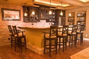 Bar Lighting Ideas by Brick Bar Bar Lighting Cabinets Basement Ideas