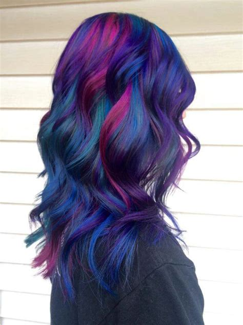 Best 25 Multicolored Hair Ideas On Pinterest Opal Hair