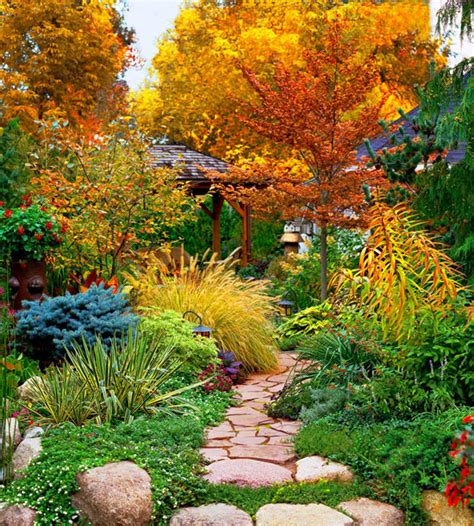 Create A Fall Garden Retreat  Home Design And Decorating