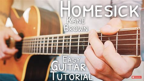 Homesick Kane Brown Guitar Tutorial // Homesick Guitar