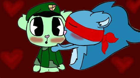 Flippy X Splendid By Flockythecat On Deviantart