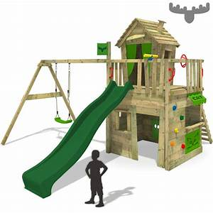 Schaukel Für Draußen : fatmoose crazycat comfort xxl spielturm kletterturm schaukel rutsche kaufladen ebay ~ Eleganceandgraceweddings.com Haus und Dekorationen