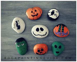 Mom Approved - Halloween Rock Painting Ideas that your