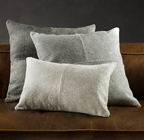 Cowhide Pillow Covers by South American Cowhide Pillow Cover