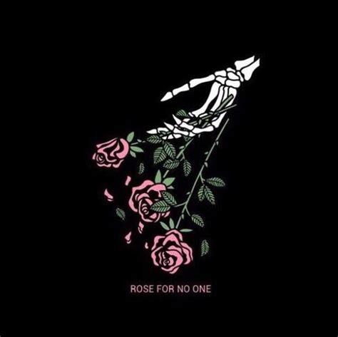 Rose for no one in 2019 Art Skull art Dark art