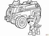 Coloring Patrol Paw Police Chase Pages Printable Drawing Skip Main sketch template