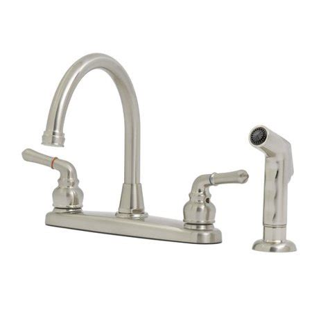 Peerless Kitchen Faucets At Walmart by Solutions By Peerless Hi Rise Kitchen Faucet Satin Nickel
