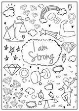 Coloring Pages Hopscotch Am Brave Colouring sketch template