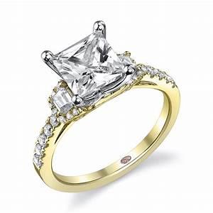 Pink diamond princess cut engagement rings hd ring for Princess cut pink diamond wedding rings