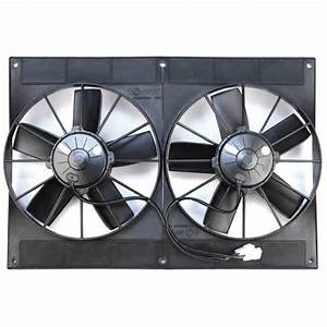 Spal 11 U0026quot  Dual High Perf  Fan