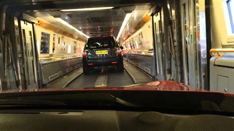 Boarding The Eurotunnel Le Shuttle Train From Folkestone