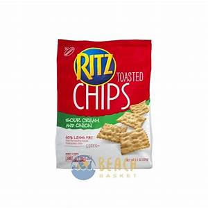 Nabisco Ritz Toasted Chips Sour Cream And Onion - Beach ...