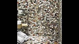 Steine Auf Wand Kleben : 17 ideen wie sie flusssteine als dekoration im interieur verwenden youtube ~ Sanjose-hotels-ca.com Haus und Dekorationen