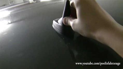 Kurze Autoradioantenne anpassen und anbringen - YouTube