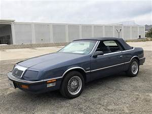1989 Chrysler Lebaron For Sale