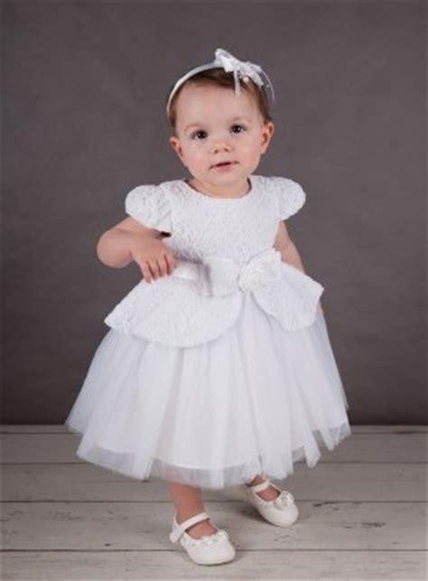 robe de bapteme fille robe de bapt 234 me princesse blanche dentelle tulle b 233 b 233 fille