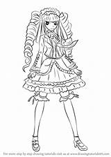 Danganronpa Celestia Ludenberg Draw Drawing Step Coloring Pages Printable Learn Tutorials Drawingtutorials101 Anime Drawings Chibi Manga Printables Tutorial Reference sketch template