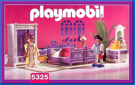 chambre des parents playmobil 08a interieur exterieur 5325 parents chambre 1900