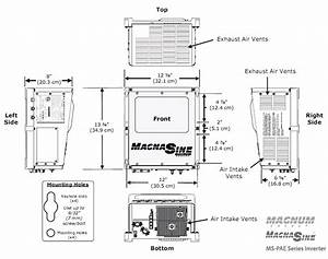 Magnum Ms4024pae Inverter - 120  240 Vac