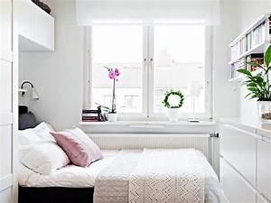 Chambre 9m2 Ikea : 10 quartos pequenos decorados para maximizar o espa o ~ Melissatoandfro.com Idées de Décoration
