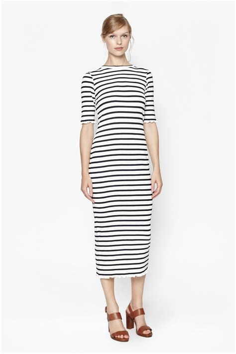 Bodycon Stripe Maxi Dress Collections French Connection