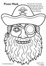 Pirate Mask Colouring Pages Pirates Activityvillage Children Wearing Activities Coloring Masks Face Cutting Sheets Printables Activity Terrifying Putting While Faces sketch template