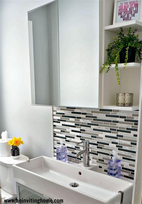 Remodelaholic  Modern Bathroom Update