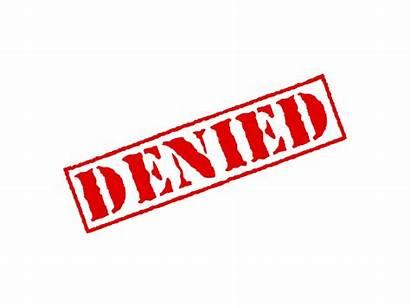 Denied Stamp Transparent Credit Rubber Clipart Claim