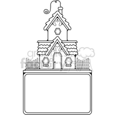 cottage sign outline clipart royalty  gif jpg png