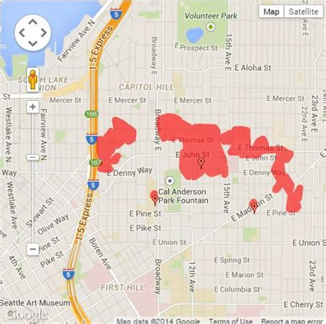 seattle city light outage power restored on capitol hill the today file seattle