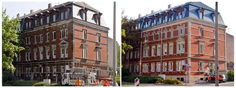 Fassadenrenovierungen, Graffitientfernung