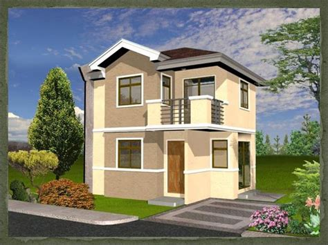 A Simple Modern Home With A Lot Of Personality Is For A And Their by A Two Storey 2 Bedroom Home Fitting In An 80 Square Meter