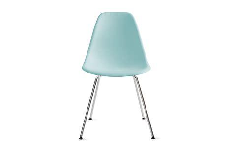 eames molded plastic side chair 4 leg base herman miller