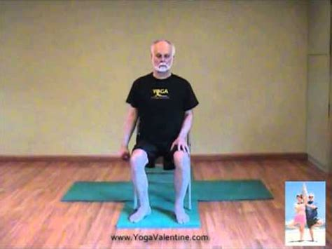 chair yoga with edwin valentine youtube