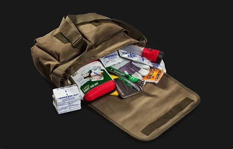 kit survival apocalypse zombie walking dead kits things efficient compact very sobrevivencia getdatgadget person