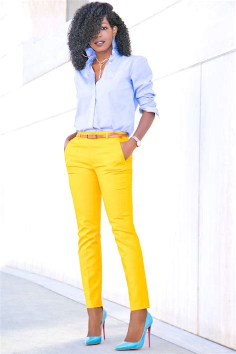 Mustard Yellow Shoes Outfit