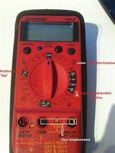 Utilisation D Un Multimètre Digital : utilisation simple d 39 un multim tre dans l 39 automobile ~ Gottalentnigeria.com Avis de Voitures