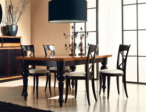 Dining Table by Home Pg 04 036 Italian Designer Painted Black