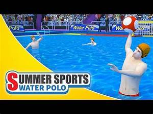 Summer Sports Water Polo Game Trailer Spil Games