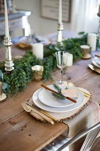 22, Pretty, Christmas, Table, Decorations, And, Settings