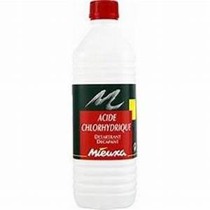 Déboucher Canalisation Acide Chlorhydrique : acide chlorhydrique tous les produits entretien de la maison prixing ~ Medecine-chirurgie-esthetiques.com Avis de Voitures