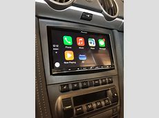 CarPlay Installs Pioneer AVICF70DAB in a Porsche Cayman